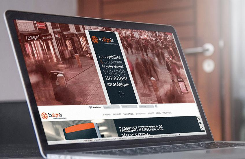 Site responsive Enseigniste Rennes
