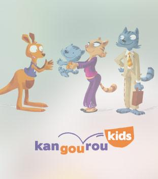 Site Mobile First Kangouroukids